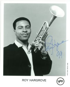 Roy Hargrove, MUSIC, 10 X 8 genuine signed autograph,  10688